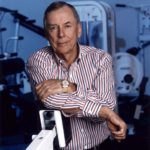 T. Boone Pickens, shown in his office's workout room in 1994, has pioneered company health and fitness programs throughout his career.