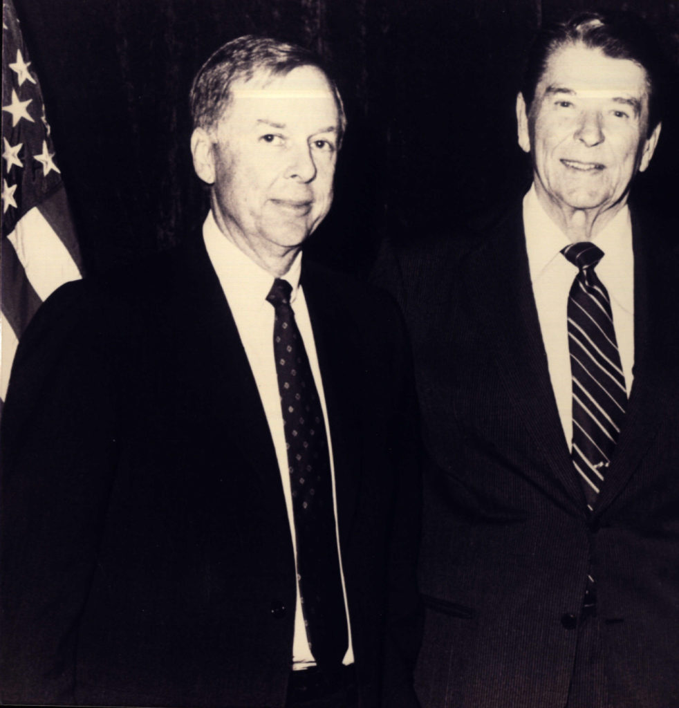 T. Boone Pickens was a great admirer of President Ronald Reagan's leadership.