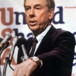 T. Boone Pickens addresses the first United Shareholders Association (USA) meeting, which tackled an assortment of corporate governance issues deemed important to shareholders.