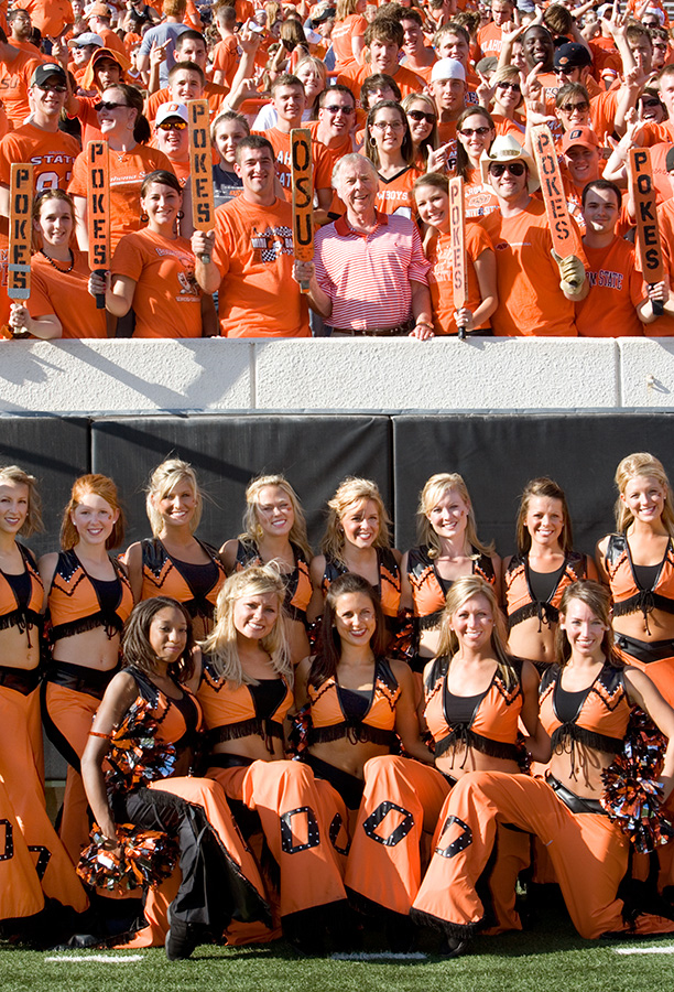 T. Boone Pickens believes in young people, and has donated hundreds of millions of dollars to his alma mater, Oklahoma State University.